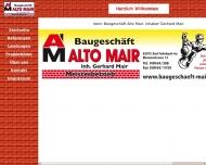 Bild Webseite  Bad Feilnbach