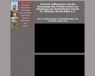 Bild Webseite Motter Thomas Baugeschäft Berlin