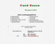 Website Roose Frank