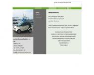 Bild Webseite Prüter Service Hamburg