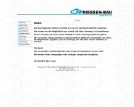 Bild Webseite RIESSEN-BAU Hamburg