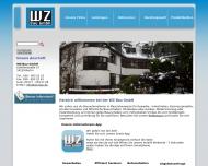 Bild Webseite WZ Bau Berlin