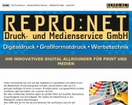 Bild Digitaldruck Grossformatdruck Repro Net