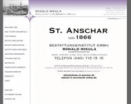 Bild MIKULA RONALD Bestattungsinstitut St.Anschar von 1866 GmbH