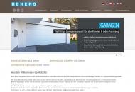 Bild Webseite Rekers Betonwerk Spelle