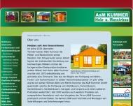 Bild A & M Kummer GmbH Holz- u. Gartenhäuser