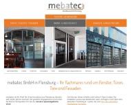 Aluminiumbau und Stahlbau mebatec GmbH in 24941 Flensburg