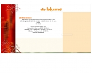 Bild Webseite Die Blume Inh. Jürgen Press Blumenbetrieb Nürnberg