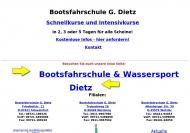 Bild Bootsfahrschule Dietz