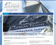 Bild Webseite Andreas Tempel Tornesch