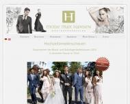 Bild Webseite Mode Max Hansen Tolk