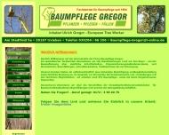 Baumpflege Gregor Fachbetrieb f?r Baumpflege seit 1984 Baumpflanzung Kronenpflege