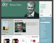 www.benno-hurt.de - Deutscher Taschenbuch Verlag