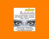 Bild Webseite Colour Line Beschriftungen Tornesch