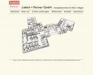 Bild Webseite Liebich & Partner Berlin