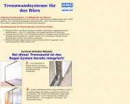 Website Giesel Paul & Sohn, Inh. Giesel Werner Lagertechnik
