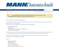 Website Mann Datentechnik