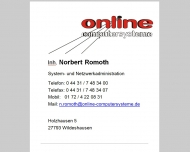 Bild ONLINE Computersysteme GmbH