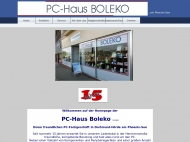 Website PC-Haus Boleko