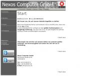 Bild Webseite Nexos Computer Berlin