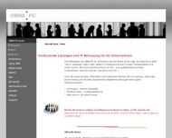 Bild Webseite OMNI PC Systemintegration Konstanz