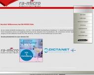 Bild RA-Microcomputer Vertriebsgesellschaft mbH Soft- und Hardware