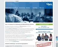 Bild CBM Computer-Anwendungsberatung, Bildung, Medienentwicklung GmbH