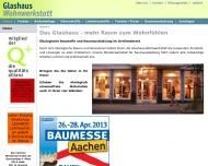 Website Glashaus-Wohnwerkstatt