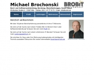 Bild Webseite Brochonski Michael Köln
