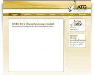 Website GATO EDV-Dienstleistung