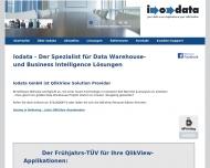 Bild Webseite Iodata Karlsruhe