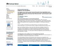 Website HS - Hamburger Software