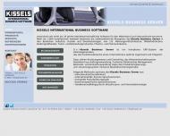 Bild Webseite KISSELS SOFTWARE Köln