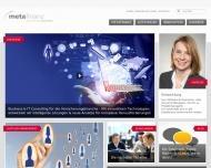 metafinanz - Business IT Consulting f?r die Versicherungsbranche