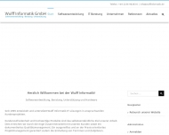 Bild Webseite Wulff Informatik Köln