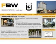Bild FBW FRISCHBETONWERK GMBH & CO. KG Verwaltung