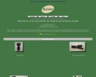 Bild Webseite Saxonia-Drogerie Berlin