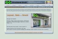 Website Druckerei Gruß