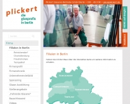 Website Plickert Glaserei-Betriebe