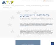 Bild Webseite EUTOP International München