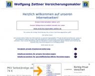 Versicherungsmakler Wolfgang Zettner - Versicherungsvergleiche, Infos, Tipps - Spezialist f?r die Pr...