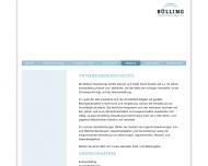 Website Bülling Verwaltung