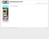 Bild Webseite NIRx Medizintechnik Berlin