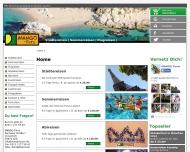 Bild Webseite MANGO Tours Köln