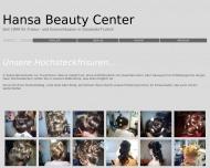 Bild Webseite Hansa Beauty Center Düsseldorf