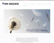 Bild Webseite MK Medien & Marketing Werbeagentur Hamburg