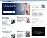 Website Schrader & Trojan Mobiltelefone