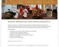 Bild Webseite Klerusblatt Verlag München