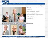 Website Computer- und Schulungscenter cSc