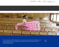 Bild Webseite Deutsche Sporthochschule Köln Köln